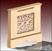 One penal 700mm Radiator Cabinet Design Available