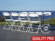 Party package 1 banquet table (183 cm) + 8 chairs