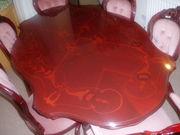 Mohogany Italian style dinning table