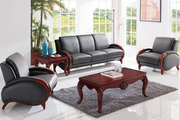 Excess Stock Leather 3+1+1Seater Sofa