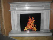 Marmara Stone Fireplace