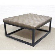 Footstoolsandmore Sells Breathtaking Black Leather Footstools