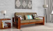 3 Seater Sofa : Buy Designer Three Seater Sofa in UK at Wooden Space