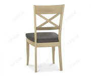 Bentley Designs Chartreuse Aged Oak X Back Dining Chair