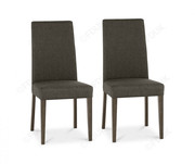 Bentley Designs Miles Walnut Taper Back Dining Chair