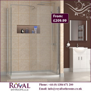 Advantages of Curved Shower Enclosures With Tray