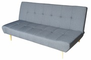 Stunning Nathan 3 Seater Charcoal Fabric Sofa Bed