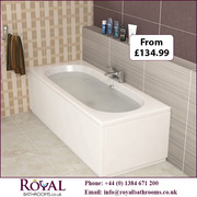 Otly Double Ended Acrylic Baths available for Sale