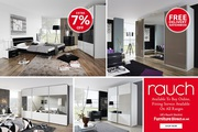Rauch Bedroom Furniture Sale | Quadra Gliding Door Wardrobe Furniture