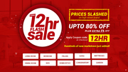 12HR Flash Furniture Sale Up To 80% + Extra 5% Off   On All Furniture