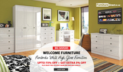 Buy Ready Assembled White Welcome Pembroke Bedroom Furniture Sale