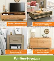 Up to 75% Off on Bentley Designs Living & Bedroom Furniture Sale