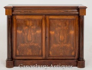 Antique William IV Cabinet Sideboard in Rosewood