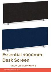 Essential 1000mm Desk Screen