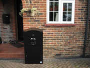 secure delivery box, Locking mailbox