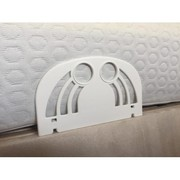 Durable side retainers for adjustable beds | Back Care Beds